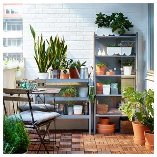 3 Muebles de terraza de metal IKEA Hindö