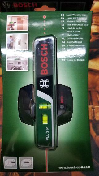 Nivel laser/burbuja Bosch PLL 1. A estrenar.
