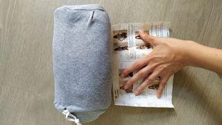 Fular portabebés semielástico recién nacido gris