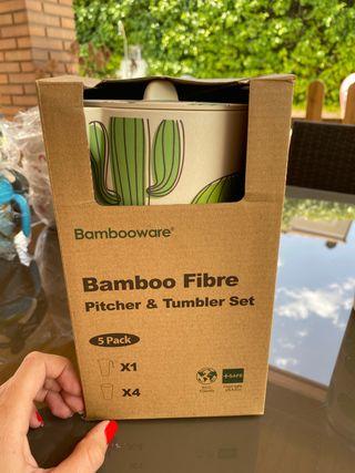 Jarra bambú