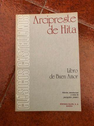 2 LIBROS arcipreste de hita LIBRO DE BUEN AMOR