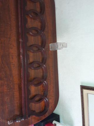 decorador de alta calidad de madera roja