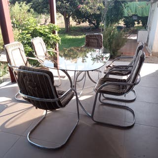mesa + 6 sillas