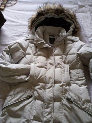 chaqueta plumas impermeable