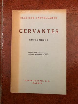 Cervantes ENTREMESES