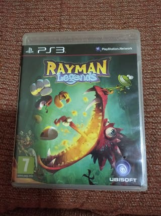 juego PS3 Rayman legends
