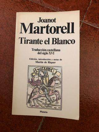 JOANOT MARTORELL TIRANTE EL BLANCO