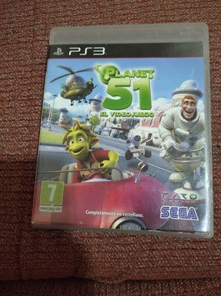 juego PS3 Planet 51