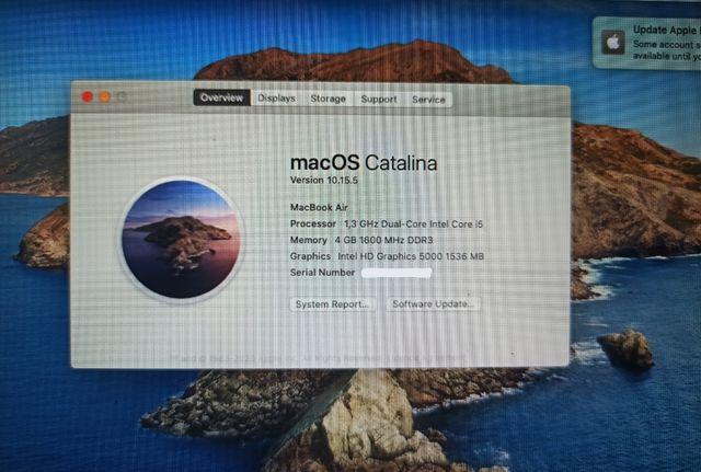 MacBook Air - 2013