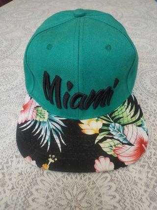 Gorra nueva Miami