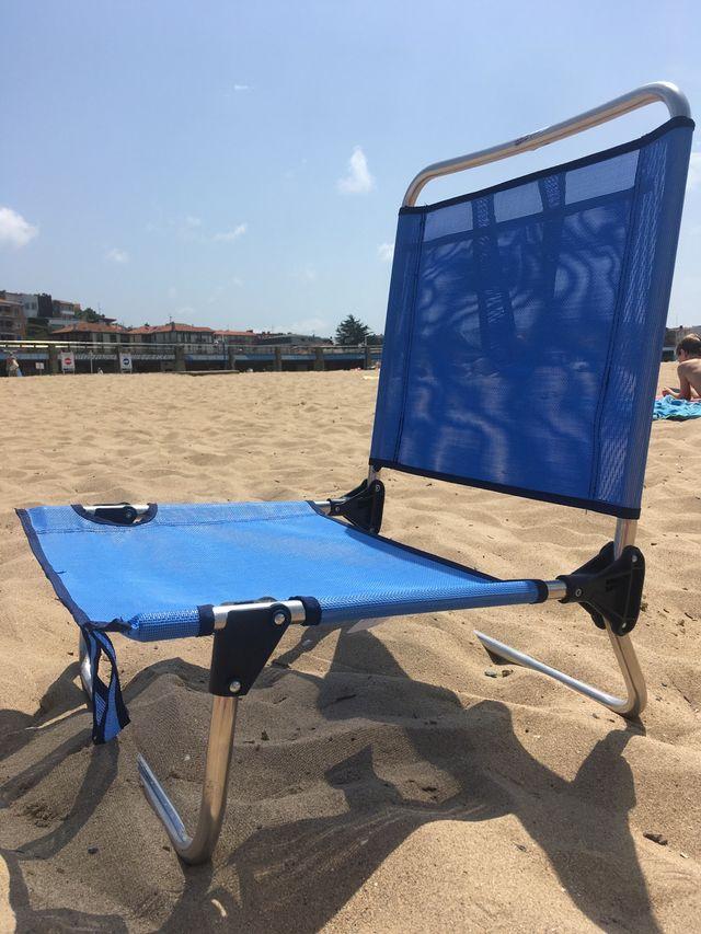 Sillas de playa plegables