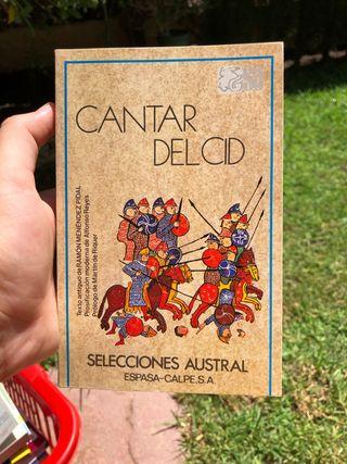 cantar del cid selecciones austral