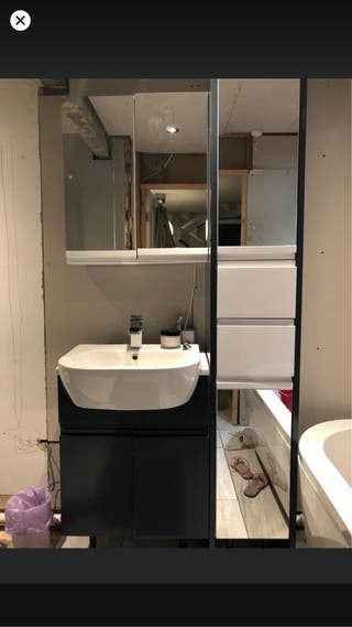 B&Q Fitted Bathroom Furniture