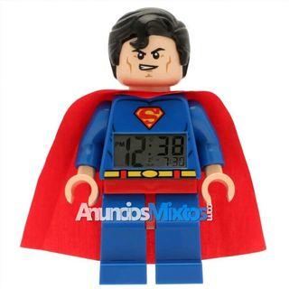 Reloj despertador Heroes Superman plástico 9005701
