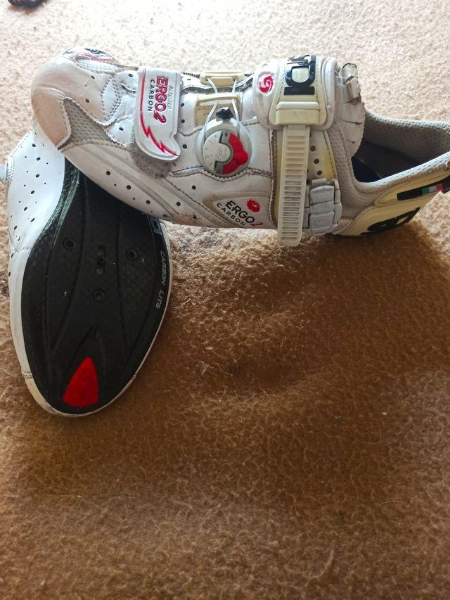 zapatos de Ciclismo usados