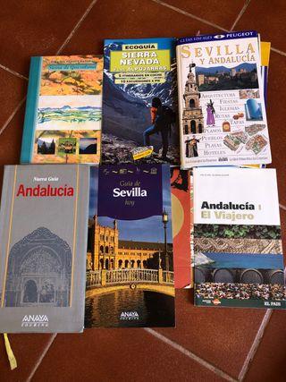 6 GUIAS ANDALUCIA, SEVILLA, GRAZALEMA, SIERRA NEVA