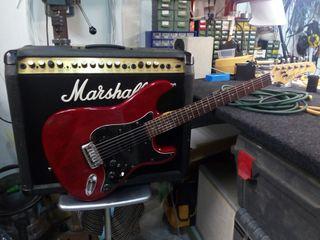 guitarra electrica+ amplificador