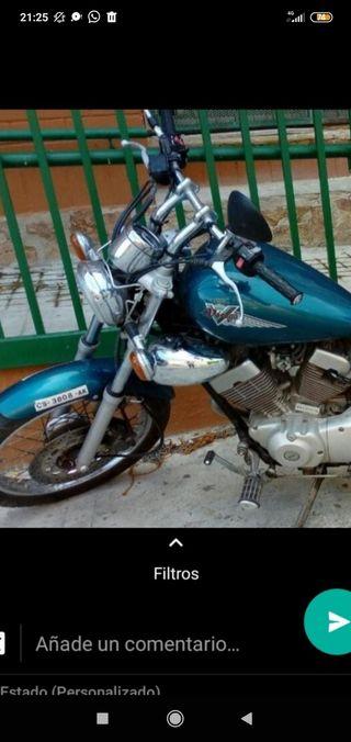 moto Yamaha virago 2.50