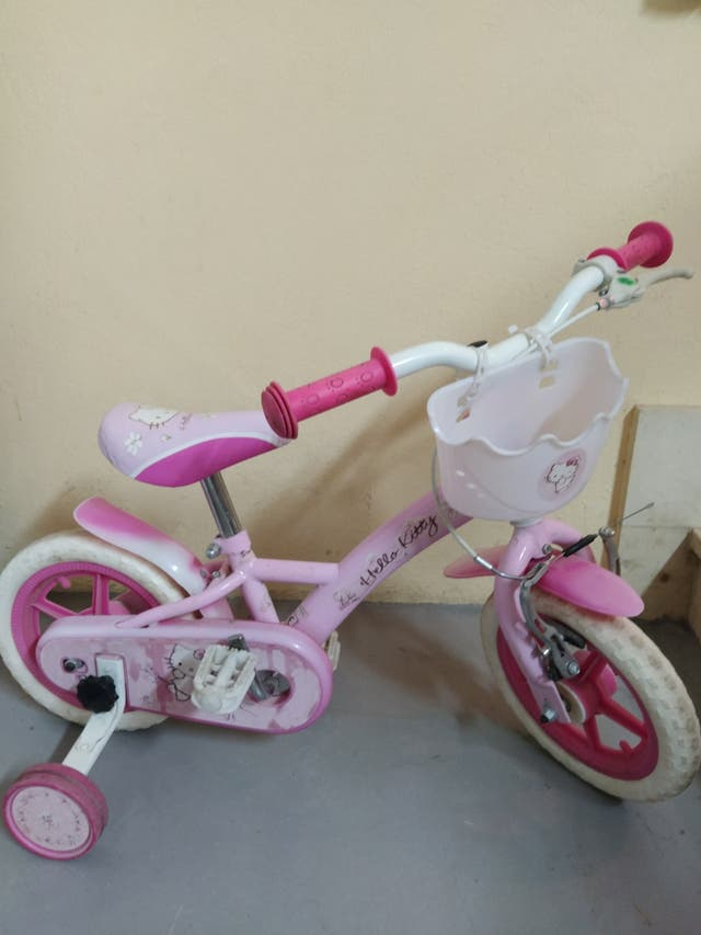 bici Hello Kitty