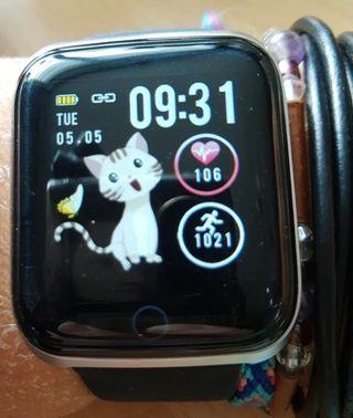 Reloj inteligente deportivo IP67