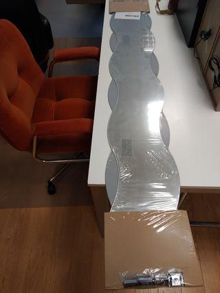 Espejo ondulado KRABB Ikea
