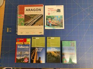 Lote guías viaje Aragón Barcelona Terres de l'Ebre