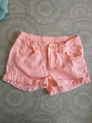 Lote 2 shorts talla 11/12