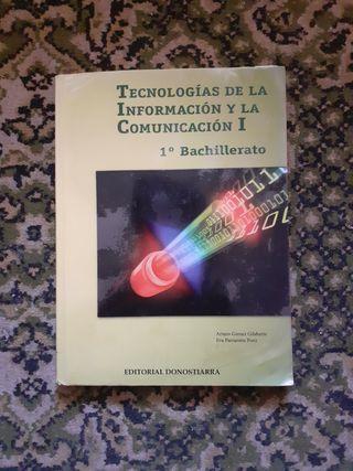 libro TIC 1 bach