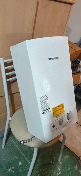 calentador gas natural junkers