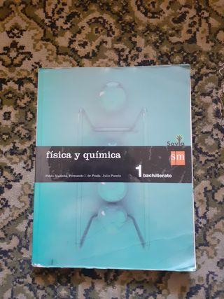 libro de física y química de 1 bach
