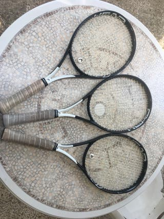 3 raquetas (TENIS) head speed graphene 360 MP