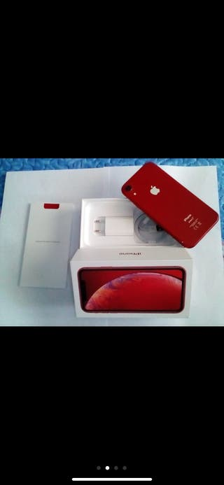 apple iphone XR 128 red libre