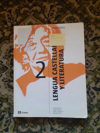 libro de lengua Castellana y literatura 2 bach