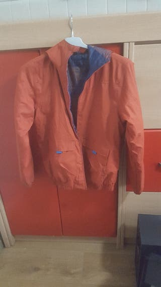 €8 chaquetón reversible Talle 12