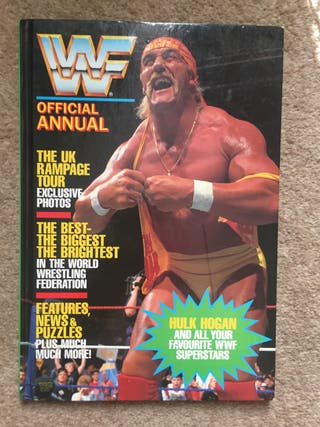 WWF Official 1990 first ever Wrestling Annual