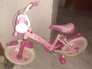 vendo bicicleta de niña seminueva