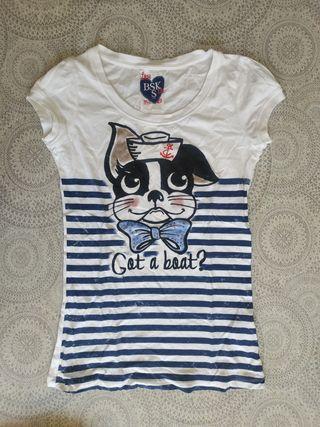 Camiseta Bershka talla S