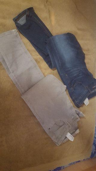 €8 lote de jeans zara talle 13 / 14