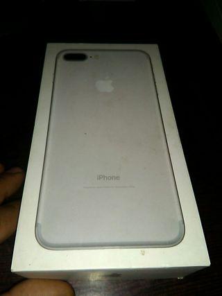 Caja Iphone 7 Plus Silver 128 Gb