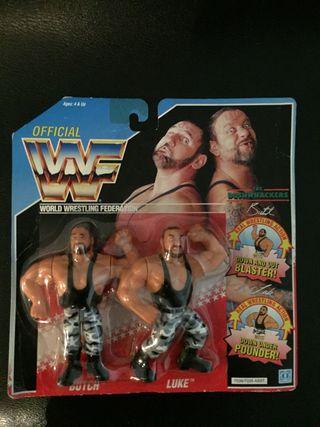 WWF 1991 Bushwackers MOC