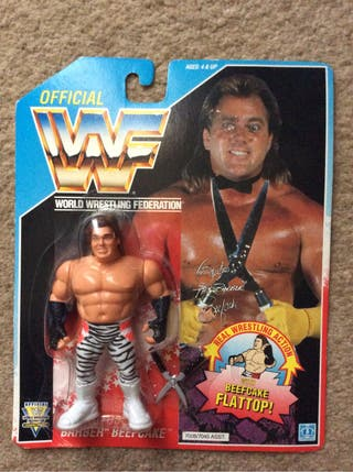 WWF 1992 Brutus Beefcake MOC