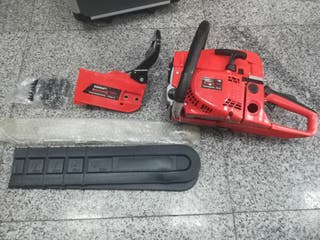 pack motosierra electrica + generador 9000