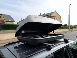 Cofre baúl portaequipajes de techo