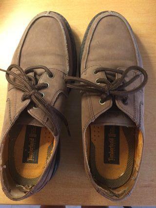 Zapatos Timberland de piel cordones