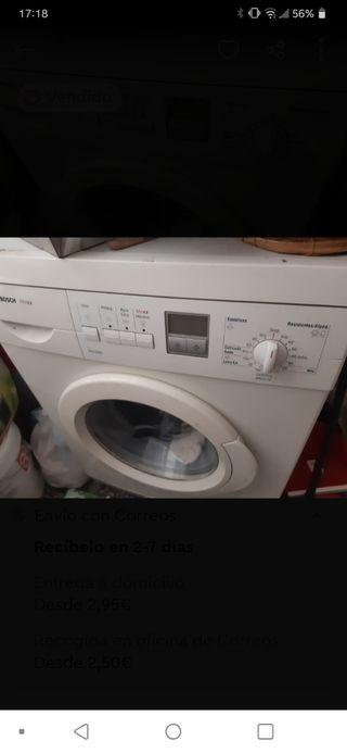 lavadora bosh. gratis