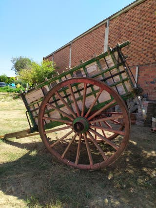 carro antiguo de labranza