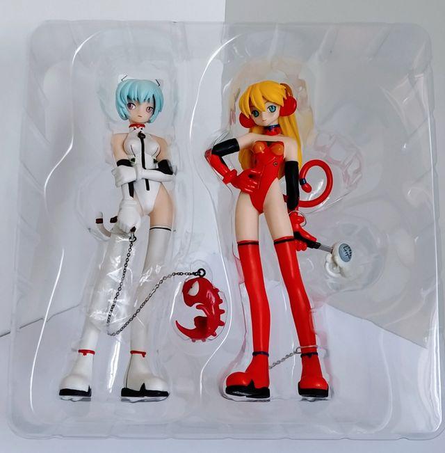 Neon Genesis Evangelion Figuras Rei & Asuka