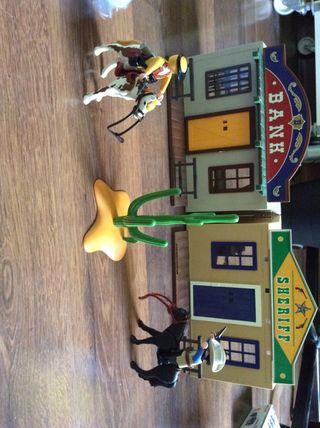 Playmobil vaqueros
