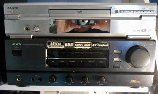 Amplificador AIWA 65+65 w