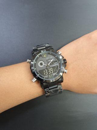 Reloj de hombre doble hora